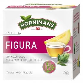 Infusión Plus Figura con algas Focus en bolsitas Hornimans 10 ud.