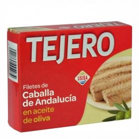 Filetes de caballa de Andalucia en aceite de oliva Usisa 160 g.