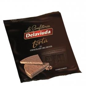 Torta de chocolate crujiente Delaviuda 150 g.