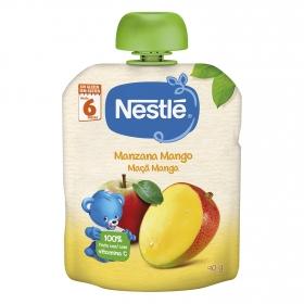 Preparado de manzana y mango Nestlé sin gluten 90 g.