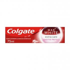 Dentífrico Max White Extra Care Colgate 75 ml.