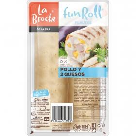 Flauta pollo/queso La Broche 260 g.