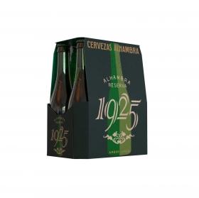 Cerveza Alhambra Reserva 1925 pack de 6 botellas de 33 cl.