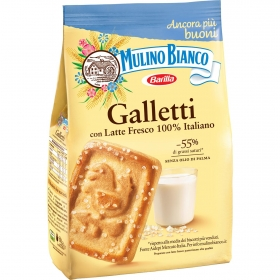 Galletas con azúcar galleti Mulino Bianco barilla 350 g.