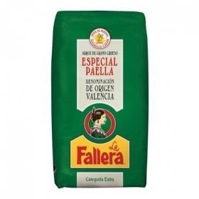 Arroz grueso para paella categoría extra La Fallera 1 kg.