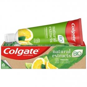 Dentífrico Naturals con aceite de limón y aloe vera Colgate 75 ml.