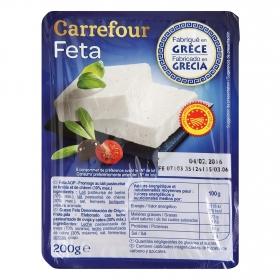 Feta griega Carrefour 200 g.