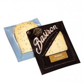 Queso gouda nueces Basiron Iberconseil cuña 200 g