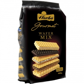 Galletas de barquillo Wafer Mix Florbú 400 g.