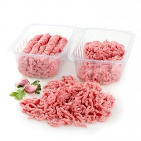 Preparado de carne picada mixta (Vacuno y Cerdo) Carrefour doble seno 900 g