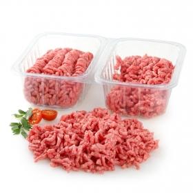 Preparado de carne picada de Vacuno (Añojo) Carrefour doble seno 900 g