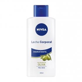 Body milk con aceite de oliva Nivea 400 ml.