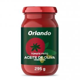 Tomate frito con aceite de oliva virgen extra Orlando sin gluten tarro 295 g.