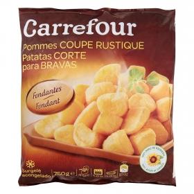 Patatas corte para bravas Carrefour 750 g.