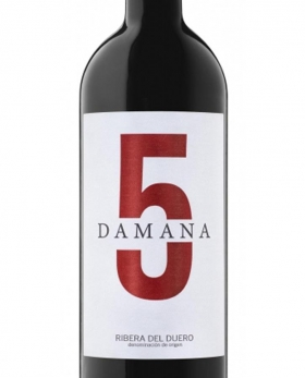Damana 5 Tinto Roble 2017