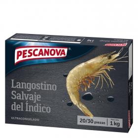 Langostino banana Pescanova 1 kg.