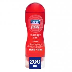 Play Massage 2 en 1 Sensual Durex 200 ml.