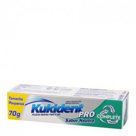 Crema Adhesiva Clasica Tamaño Ahorro Kukident 70 g.