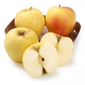 Manzana golden ecológica bandeja 4 ud 600 g