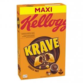 Cereales con chocolate y nueces Krave Kellogg's 600 g.