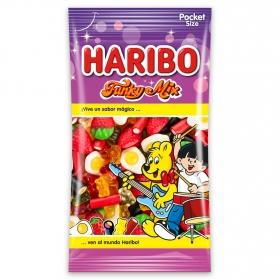 Caramelos de goma Funky Mix Haribo 75 g.