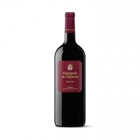 Vino D.O. Rioja tinto crianza magnum Marqués de Cáceres 1,5 l.