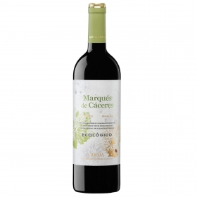 Vino D.O. Rioja tinto ecológico Marqués de Cáceres 75 cl.
