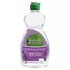 Lavavajillas a mano ecológico Lavender & Mint Seventh Generation 500 ml.