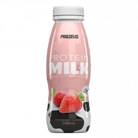 Batido de proteínas sabor fresa Prozis 330 ml.