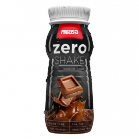 Batido de proteínas zero sabor chocolate Prozis 250 ml.
