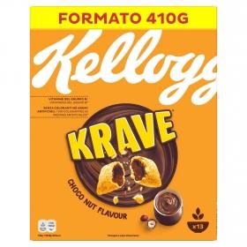 Cereales con chocolate y nueces Krave Kellogg's 375 g.