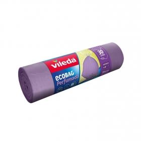 Bolsa de Basura VILEDA 15 ud Perfumadas - Violeta