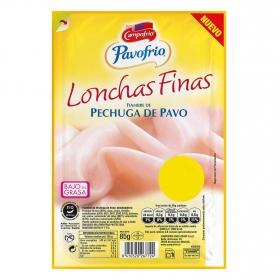 Pechuga de pavo finas lonchas Campofrío Pavofrío sin gluten y sin lactosa 85 g.