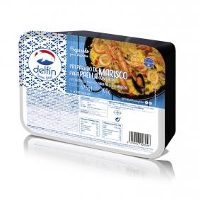 Preparado para paella de marisco Delfín 675 g.