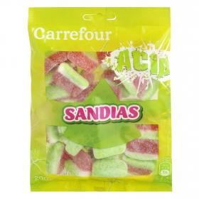 Caramelo de goma sabor sandía Carrefour 200 g.