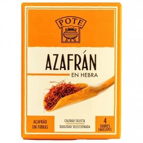 Azafrán en hebra Pote 0,4 g.