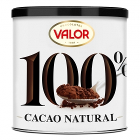 Cacao soluble natural Valor 250 g.