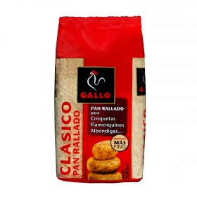 Pan rallado Gallo 500 g.