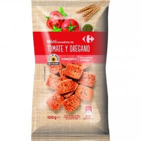 Mini bocaditos de tomate y orégano Carrefour 100 g.