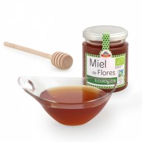 Miel artesana de flores ecológica 300 g