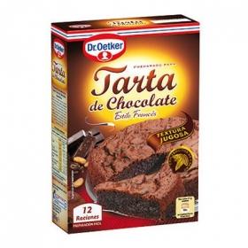 Preparado para tarta chocolate Dr. Oetker 355 g.