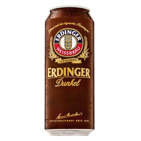 Cerveza Erdinger Dunkel lata 50 cl.
