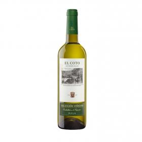 Vino D.O. Rioja Blanco Selección viñedos El Coto 75 cl.