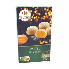 Pastel de yema Carrefour 300 g.