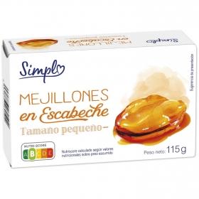 Mejillones en escabeche 115 g.