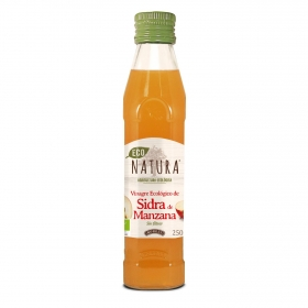 Vinagre de sidra de manzana ecológico Natura 250 ml.