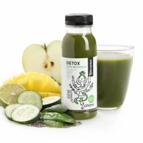 Zumo Romantics Detox Chia - Nataraja botella 25 cl.