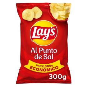 Patatas fritas con sal Lay's 300 g.