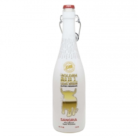 Sangría blanca Golden Bull botella 75 cl.