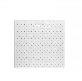 Alfombra de Ducha Antideslizante 53 x 53 cm - Blanca